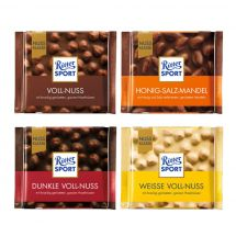 Ritter Sport Displ. ass. Nuss 25% 36x100g